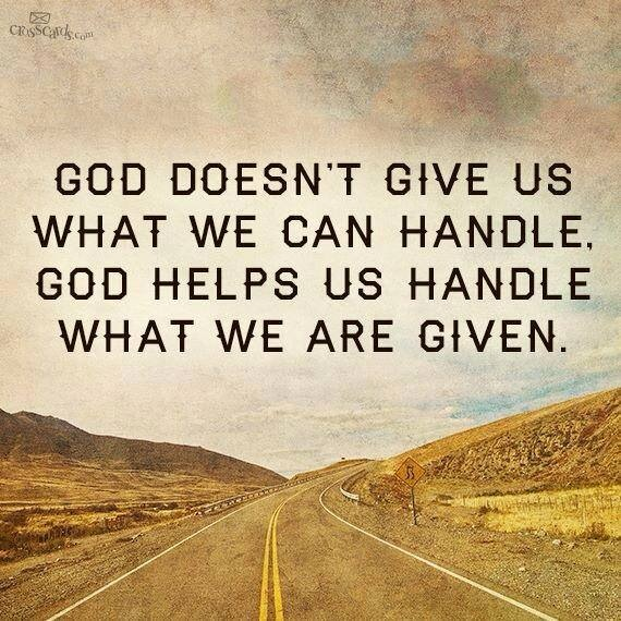 god can handle